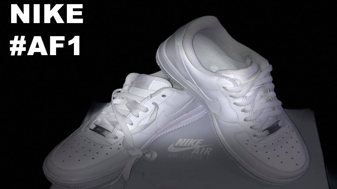 the latest 968e3 dec33 Como reconocer Nike Air Force One original    Recomendación   Unboxing