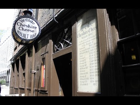 Lunch at Ye Olde Cheshire Cheese – Fleet Street, London