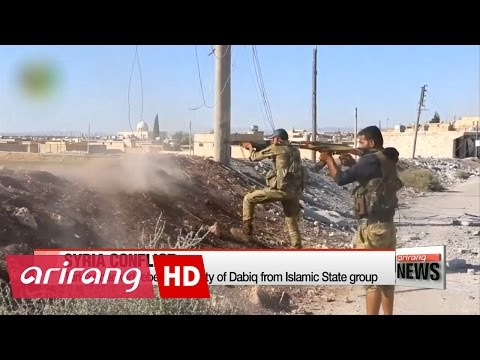 Turkey-backed rebels seize city of Dabiq from Islamic State group