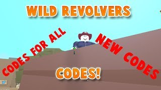 ALL/NEW CODES FOR WILD REVOLVERS! | ROBLOX