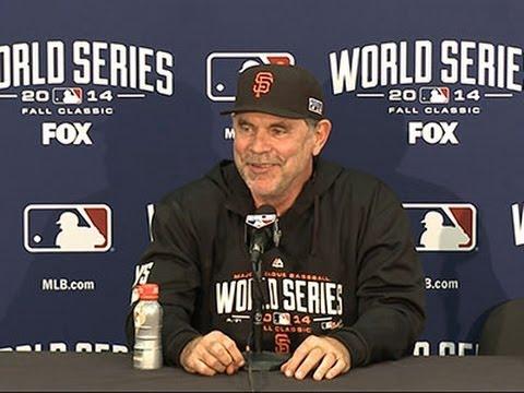 Giants Beat Royals to Tie World Series