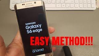 Hard reset Samsung S6 edge SM-G925F. Unlock pattern/pin/password lock. screenshot 4