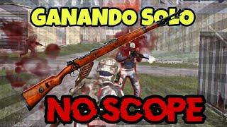 RETO SOLO Kar98K (NoScope) en NUEVO MODO 4vs4 🤯 PUBG Mobile Gameplay en Español
