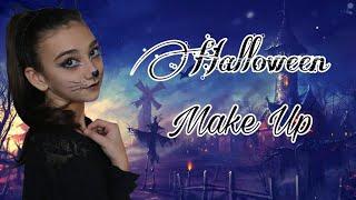 Макияж кошки на хэллоуин || Halloween || Мадя Лайм