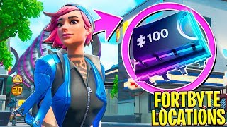FORTNITE FORTBYTE #58 | LOCATED AT NORTH END SNOBBY SHORES