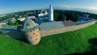 видео Великий Новгород.  Достопримечательности города и окрестностей.