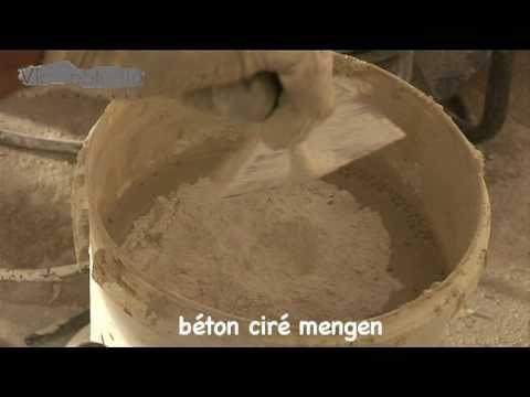 Béton ciré specialist in nederland via estudio youtube