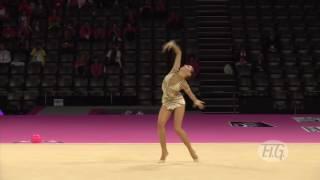 Российская гимнастка выступила так, что жюри во Франции были просто потрясены!(, 2016-05-14T14:29:43.000Z)