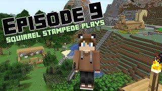 Squirrel Stampede Plays Minecraft Episode 9: Sheep!