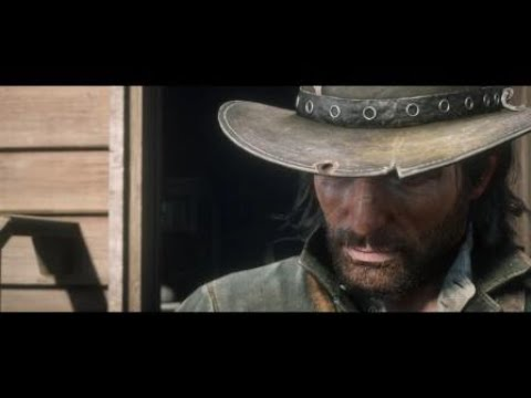 Red Dead Redemption 2 John Puts On His Signature Red Dead Redemption Outfit