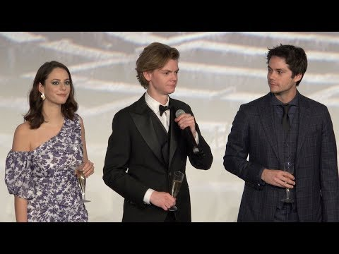 Le Labyrinthe - Maze runner Paris premiere - Dylan O'Brien (Grand Rex, 24/01/2018)