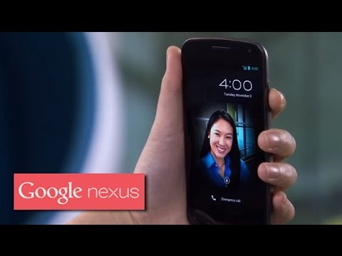 Galaxy Nexus: Face Unlock