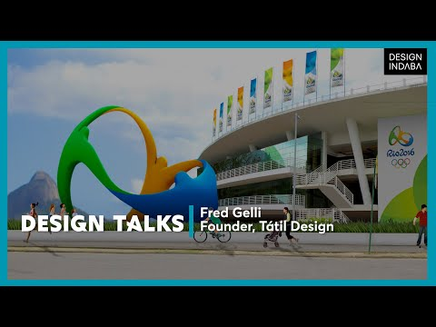 Fred Gelli on designing an Olympic identity that connects anyone and everyone