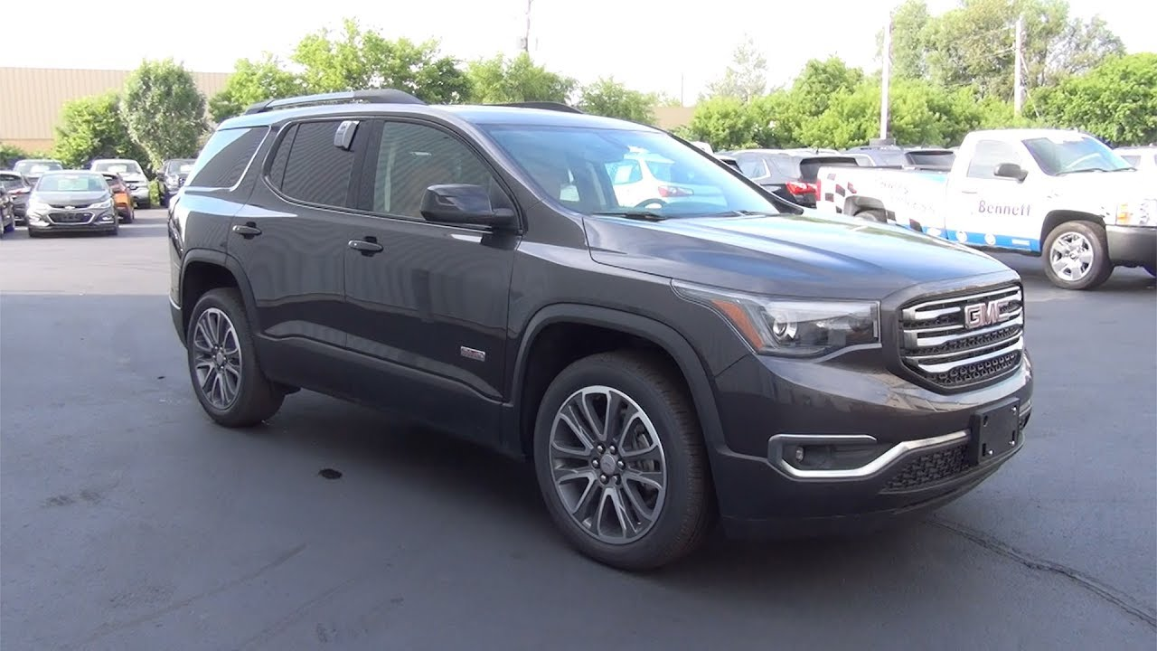 2017 Gmc Acadia Awd Slt 1 Iridium Metallic