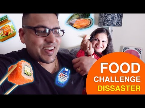 FOOD CHALLENGE!!!  (ONE OF US THROWS UP)