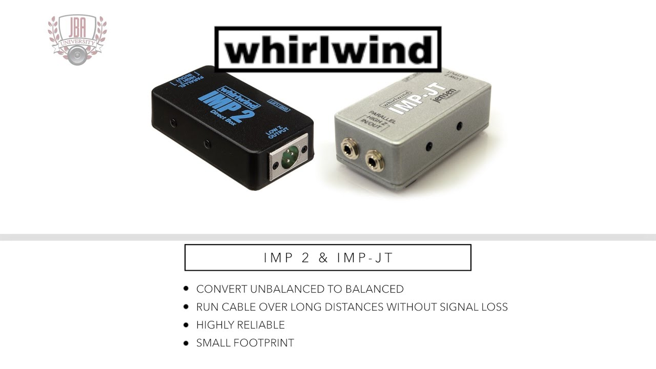whirlwind imp 2 imp jt tutorial youtube