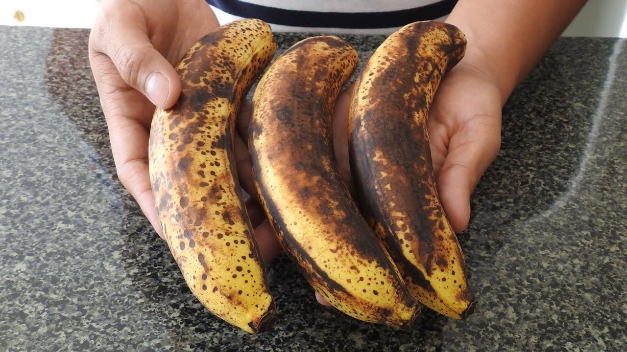 SI TIENES PLÁTANOS VIEJOS EN CASA Prepara este delicioso desayuno con solo 3 ingredientes