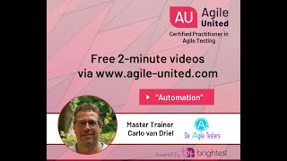 Automation -  Testing in an Agile context