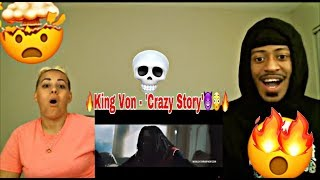 KING VON - CRAZY STORY REACTION 🔥😈 CHIRAQ DRILL EXTREMELY CRAZY SONG MUST WATCH!