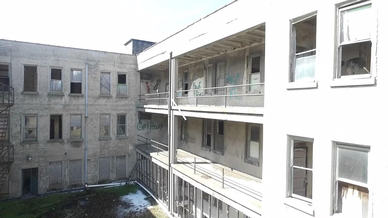 Mary S City Of David Hotel Drone Abandonded Historic House Cult Benton Harbor Mi