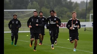 Newcastle United | Players report back for pre-season