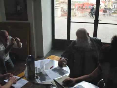 Augusto De Luca and Hermann Nitsch - at work