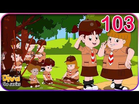 Seri Diva   Eps 103 Latihan Pramuka   Diva The Series Official