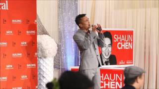 Kalsen Cheung - Wishing (Mandarin) - An Evening with MP Shaun Chen 2017 - 祝福