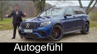Mercedes GLC 63 AMG FULL REVIEW Mercedes-AMG GLC 63 S SUV - Autogefühl