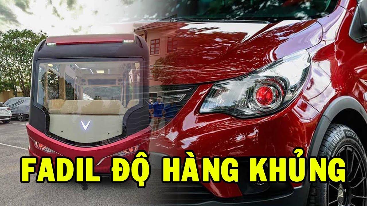 """Tin xe Vinfast: Cận cảnh xe Buýt mang thương hiệu Vinfast; Fadil được chủ xe """"độ"""" khủng thế nào?"""