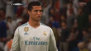 Cristiano ronaldo free kick vs psg | fifa 18 demo