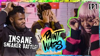 """BATTLE OF THE SHOE CUSTOMIZERS! World's Top Sneaker Artists FIGHT For $10K! """"It's Getting STRESSFUL"""""""
