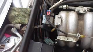 Как заглушить кран печки ВАЗ 2107