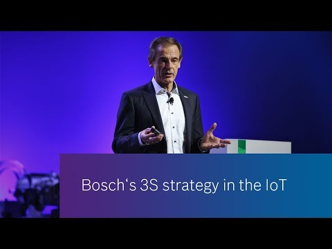 Bosch's 3S strategy for the IoT - explained in 1 minute