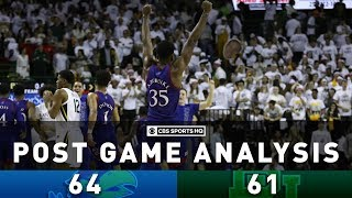 #3 Kansas ends #1 Baylor's 23-game streak in Big 12 |  CBS Sports HQ