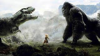 King Kong đại chiến Khủng Long T-Rex   Phim Quái Vật