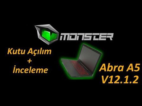 Monster Abra A5 V12.1.2 Kutu Açılım