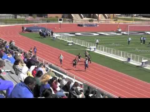 Cameron Williams - 2012 South San Track Meet - Finals
