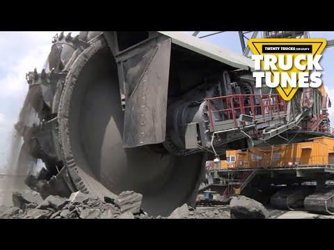 Bucket Wheel Excavator For Children | Truck Tunes For Kids | Twenty Trucks Channel
