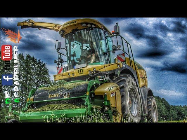 Gras häckseln mit Krone Big X 630; Case, Claas, Fendt / Die Agrarfilmer [HD]
