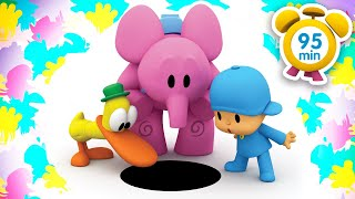 🃏POCOYO in ENGLISH - Pocoyo in Wonderland [95 min] | Full Episodes |VIDEOS and CARTOONS for KIDS
