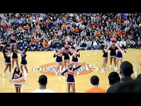 (Whitney Cheerleaders)  Whitney Young Lady Dolphins Pep Rally 2011