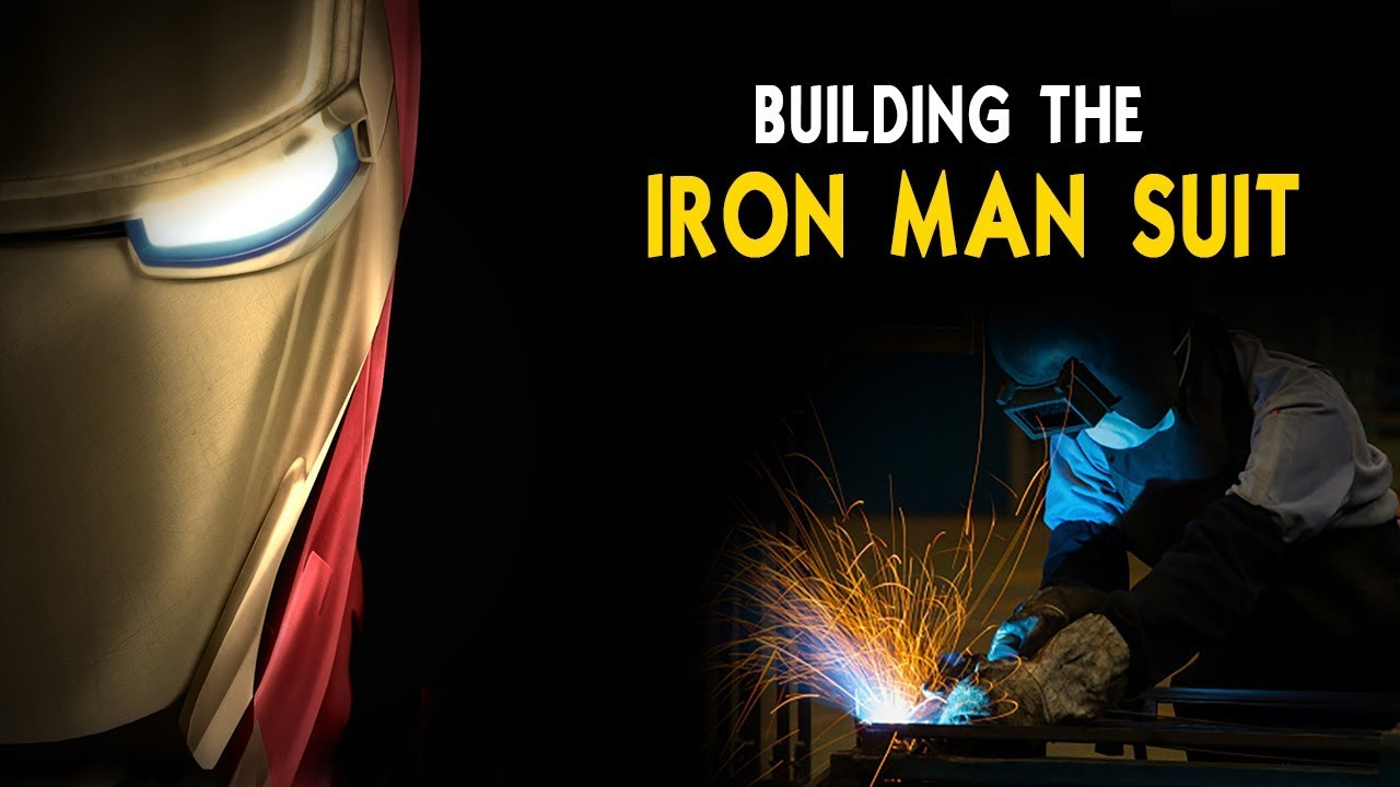 Building Iron Man Suit - TechVire
