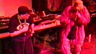 Company Flow, Jazz Cafe, London 11/11/97 first ever UK appearance