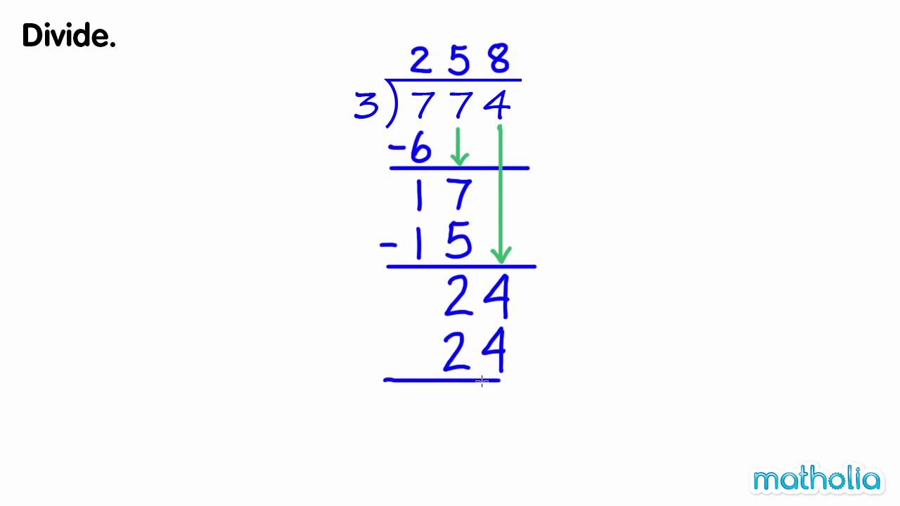 how to work out 2 3 divided by 6