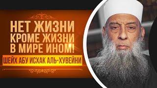 Нет жизни кроме жизни в мире ином - Шейх Абу Исхак аль-Хувейни