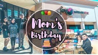 Mom's Birthday || Lunch with fam || Korean BBQ Buffet || #jinkoreanbbq