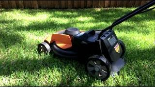 WORX Mower Battery Review