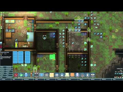 Rimworld - Alpha 12 - Ep3 - Making Bedrooms