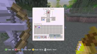 Minecraft Xbox 360/PS3 - TU14 Potions - How To Make Invisibility And Night Vision Potions